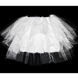 White Tutu Skirt,  Tulle Layering Skirts, Graceful Tutu Swing Skirt, #HG8611