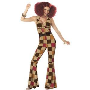 1970s Groovy Disco Ball Adult Halloween costume N11362