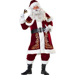 Premier Plush Santa Suit, Santa Claus Costume, Santa Claus suit, #XT18442