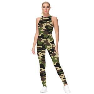 Evangelion 3D Printed Jumpsuit, Halloween Backless Sleeveless Slim Fit Bodysuit, Halloween Bodycon Jumpsuit, Evangelion Vest Jumpsuit, Halloween Vest Jumpsuit for Women, #N21239