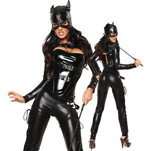 Queen of Felines Costume, Sexy Cat Halloween Costume, Catwoman Halloween Costume, #M1374