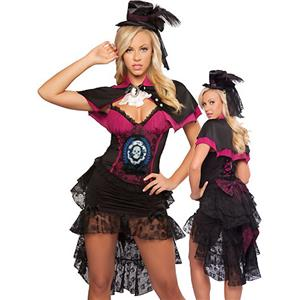 Halloween Costumes, Victorian Vampire Costumes, Sexy Witch Costume, #W1713