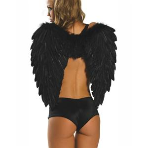 60CM Dark Angel Wings, 80CM black Dark Angel Wings, Dark Angel Wings, #J7126