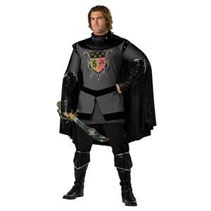 Knight Costumes, Super Deluxe Dark Medieval Knight Costume, Men