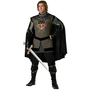 Adult Dark Medieval Knight Costume N4874