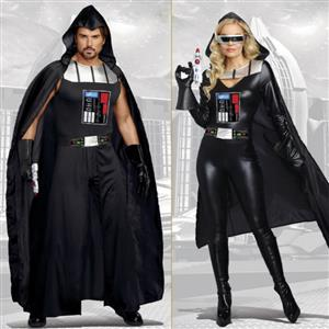 Couples Halloween Party Costume, Star Blaster Costume, Darth Vader Cosplay Outfits, Star Wars Costume, Warrior