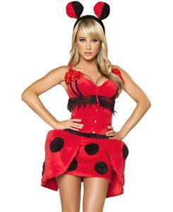 Lovely Ladybug Costume, Adult Ladybug Costume, Ladybug Costumes, Sexy Ladybug Costume, #N4712