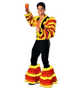 Super Deluxe Calypso Man costume, Spanish Costumes, Spanish Costumes for Men, #N4577
