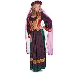Medieval Maiden Costume, Adult Velvet Medieval Maiden Costume, Renaissance Womens Costumes, #N5818