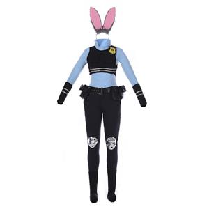 Cheap Cosplay Costume, Policewoman Costume, Bunny Girls Costume, Hot Selling Halloween Costume, #N11347