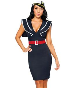 Ahoy There Hottie Sailor Costume, Naughty Sailor Costume, Sexy Sailor Dress, #N1263