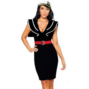 Ahoy There Hottie Sailor Costume, Naughty Sailor Costume, Sexy Sailor Dress, #N5267