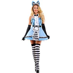 Alice In Woodland Costume, Deluxe Alice Costume, Womens Sexy Alice Costumes, Rebel Alice Fancy Costume, #N11976