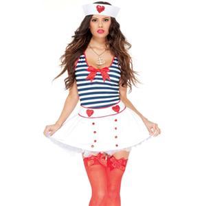 Adult Sailor Costume, All Hands on Deck Adult Sailor Costume, Anchor Sailor Costume, #N5772