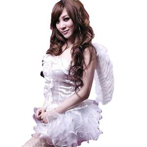 White Angel Cosplay Costume, Sweet Angel Costume, Angel Costume, Queen of Angels Costume, Beauty Angel Costume, Cheap Halloween Costume for Women, #N1614