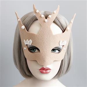 Halloween Masks, Costume Ball Masks, Masquerade Party Mask, Adult and Child Mask, Half Mask, Animal Masks, #MS13011