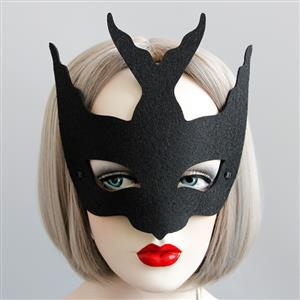 Halloween Masks, Costume Ball Masks, Masquerade Party Mask, Adult and Child Mask, Half Mask, Animal Masks, #MS13012