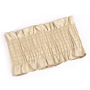 Apricot Wasit Belt, High Waist Cinch Belt, Interlock Buckle Elastic Wasit Belt, Wide Waist Cincher Belt Apricot, Elastic Wide Waistband Cinch Belt, Elastic Waist Belt for Women, #N18259