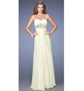 Sexy Long Gown, Lady Noble Fashion Apricot Gown, Cheap High Quality Floor-length Gown, Apricot A-line Gown, #N10084