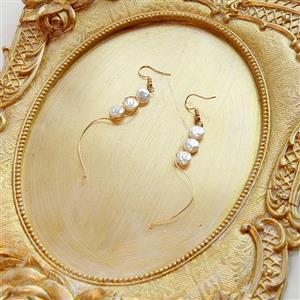 Retro Mermaid Earrings, Summer Seashell Dangler, Fashion Earrings for Women, Vintage Eardrops, Casual Earrings, Victorian Gothic Earrings, Fashion Summer Earrings, #J21461