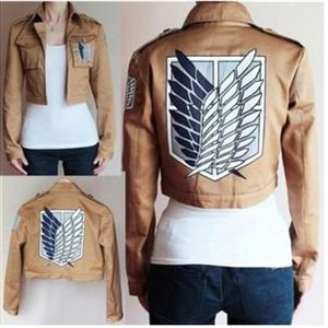 Attack on Titan Costume, Attack on Titan Mikasa Costume, Anime Shingeki no Kyojin Cosplay Costume, #N12709