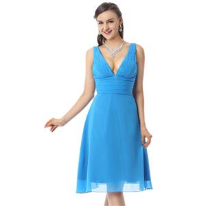 Fashion Sexy Azure Dresses, Cheap Formal Dresses on sale, Hot Selling Cocktail Dresses, Discount Prom Dresses, #F30067