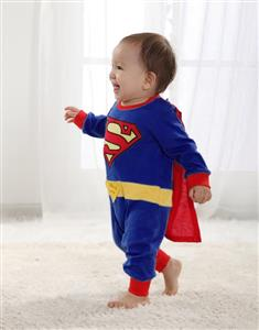 Baby Superman Clothes for Boy, Superman Costume Baby, Boy Superman Romper Baby, #N6258