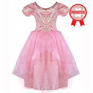 Pink Girls Princess Costume, Ballerina Aurora Costume Girls, Ballerina Girls Costume, #N5756