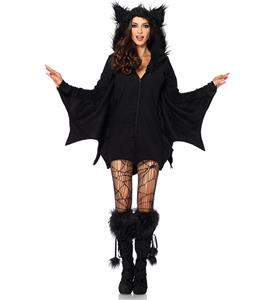 Bat Hooded Costume N9198
