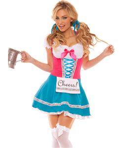 Bavarian Beer Babe Costume, Beer Girl Costume, Beer Girl Halloween Costume, #N5147