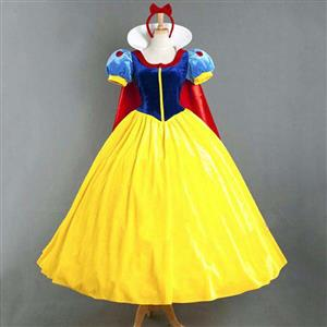 Beauty Snow White Princess Dress Adult Costume N10848