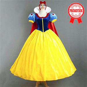 Beauty Snow White Princess Dress Adult Costume N10848