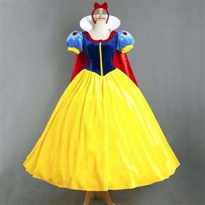 Fairy Tale Costume, Snow White Princess Costume, Adult Sexy Snow White Princess Dress, Cheap Halloween Costume, Plus Size Costume, #N10848
