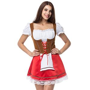 German Beer Girl Oktoberfest Costume N12672