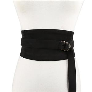 Black Wasit Belt, High Waist Cinch Belt, Alloy Buckle Elastic Wasit Belt, Wide Waist Cincher Belt Black, Elastic Wide Waistband Cinch Belt, Elastic Waist Cincher Belt for Women, #N18444