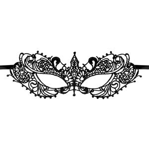 Halloween Masks, Costume Ball Masks, Black Lace Mask, Masquerade Party Mask, #MS11772
