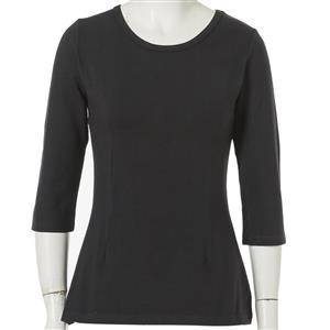 Sexy Half Sleeve Striped T-shirt, Women