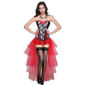 Burlesque Dancing Skirt Set, Women