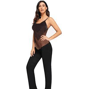 Sexy Strappy Bustier, Sexy Gauze Corp Top, Black Crop Top, Sexy Clubwear Bustier, Sexy Gauze Bustier, Halter Crop Top, #N18598