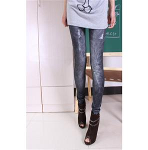 Fashion Thicken Jeans, Sexy Thicken Pants, Black Thicken Leggings, #L5256