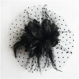Black flower hair accessory, hair accessories flowers, Hair Accessorie, #J7213