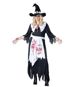 Sexy Halloween Costume, Hot Sale Witch Costume, Cheap Women