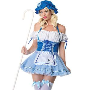 Sexy Fairy Tales Costumes, Little Bo Peep Costume, #N2009