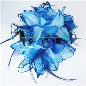 Blue Hair Accessories For Women, Holiday Hair Accessories, Hair Accessorie, #J7217