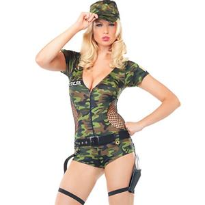 Sexy Military Costumes, Sexy Army Costume, Military Uniforms, #M2502