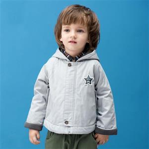Boys Hooded Quilting Parka, Boys Clothes, Boys Winter Coat, Winter Jecket for Boys, #N12319