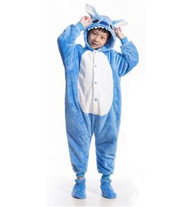 Cartoon Stitch Jumpsuit Romper Children, Cartoon Star Stitch Costume, Children Stitch Sleepwear, #N6323