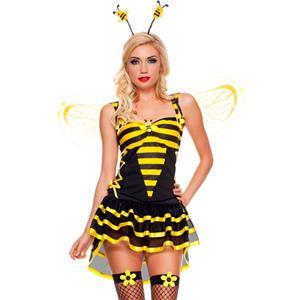 Burlesque Bee Costume N4584  sc 1 st  MallTop1.com & BEE COSTUME - MallTop1.com