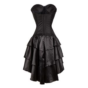 burlesque queen corset dress halloween costume n11585