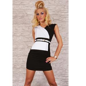 Business Girl Dress White N4526